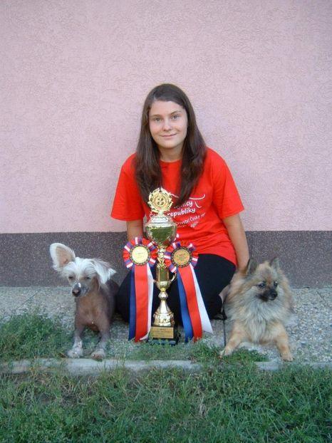 Mistrovství České republiky mládeže v agility 2012- Píšťany