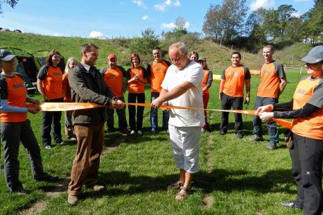Burčák cup aneb oficiální kolaudace cvičiště v Lednici - Nejdku
