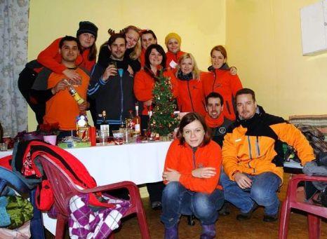Vánoční večírek Jumpingdogs 2015